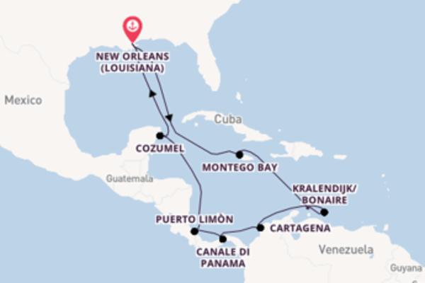 Piacevole crociera di 15 giorni passando per Cartagena