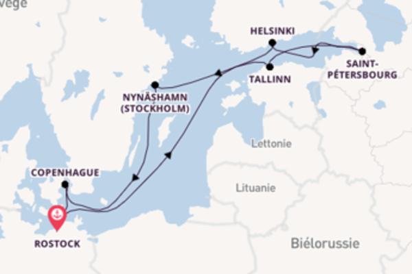 Douce balade à bord du bateau Norwegian Escape