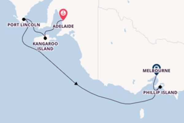 Kreuzfahrt mit der Sapphire Princess nach Melbourne