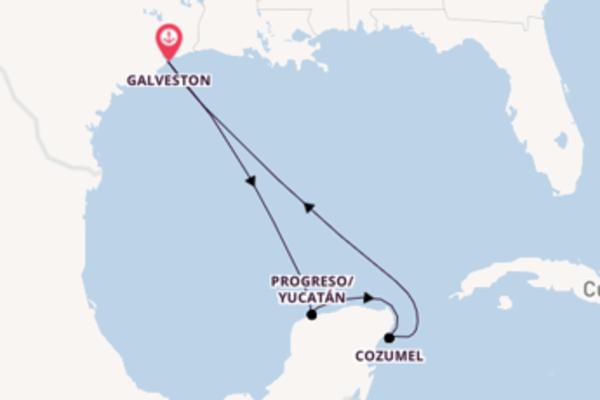 Cruise met Royal Caribbean® naar Progreso/Yucatán