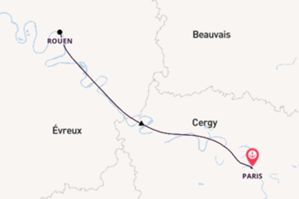 5 day cruise from Paris