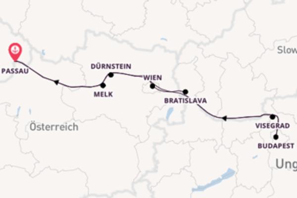 Traumhafte Reise über Dürnstein in 8 Tagen
