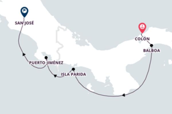 Memorável passeio de 12 dias até San José