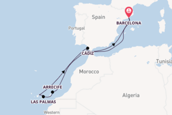 10 day trip from Barcelona