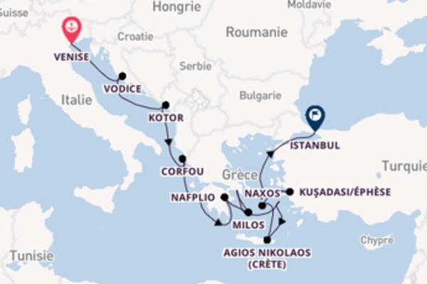 Croisière de 15 jours vers Istanbul avec Seabourn