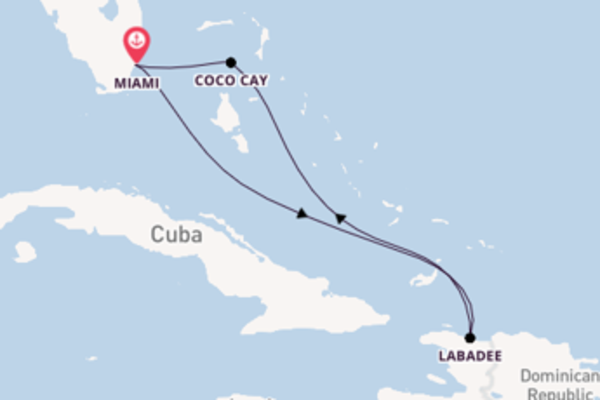 Vibrant voyage from Miami with Royal Caribbean