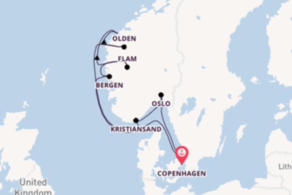 A bordo di Silver Spirit fino a Copenhagen