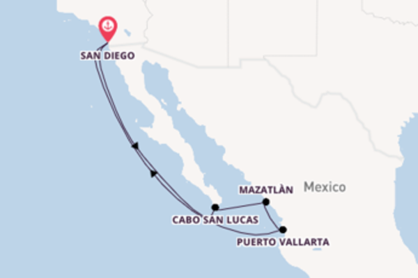 Stupenda crociera da San Diego verso Cabo San Lucas