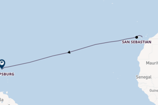16-daagse reis aan boord van de Star Flyer