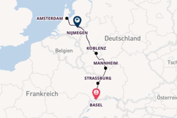 8 Tage Rhein Kreuzfahrt