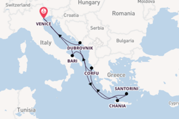 Wonderful voyage from Venice with MSC Cruises