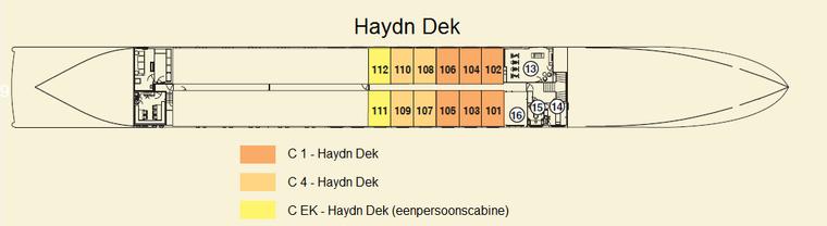 MS Amadeus Brilliant Haydn Dek 4