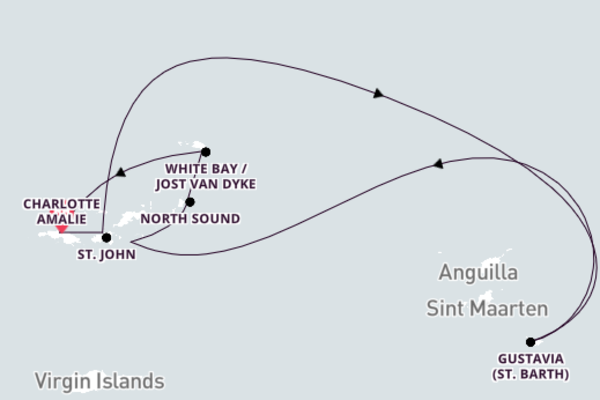8-Day Adventure to Magnificent White Bay/Jost Van Dyke
