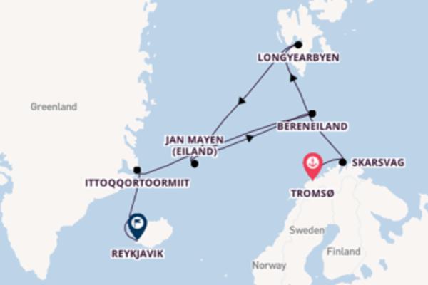 26-daagse reis naar Reykjavik