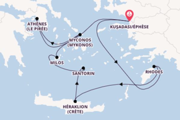 Douce balade de 8 jours pour découvrir Le Pirée