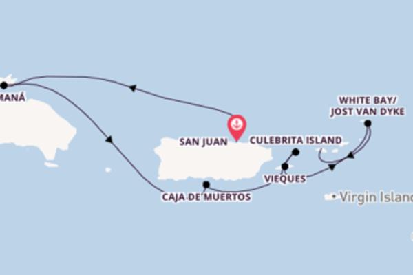 In 8 Tagen nach Charlotte Amalie über Caja de Muertos
