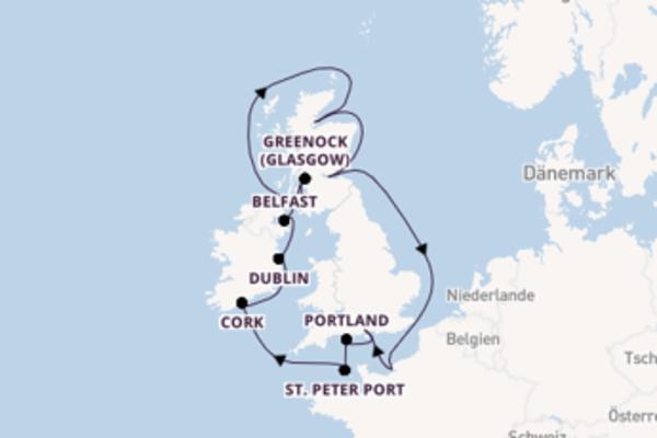 13 Tage Britische Inseln Reise