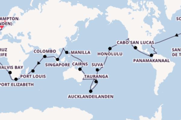 De pracht van het avontuurlijke Panamakanaal