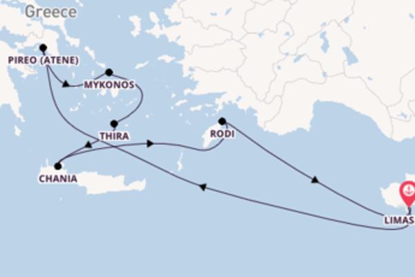 Magnifico viaggio di 8 giorni verso Limassol