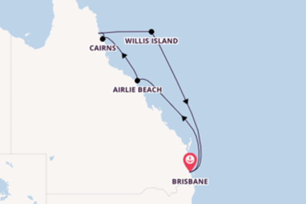 Magnificent trip from Brisbane with Princess Cruises