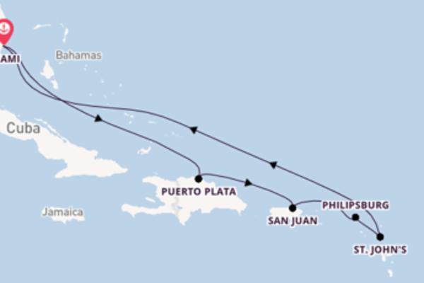 9 dias navegando a bordo do Jewel of the Seas