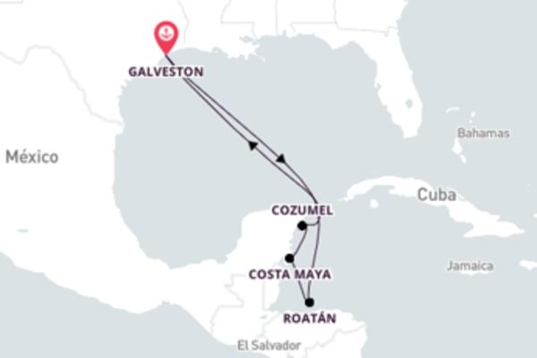 Impressionante viagem de 8 dias até Galveston, Texas