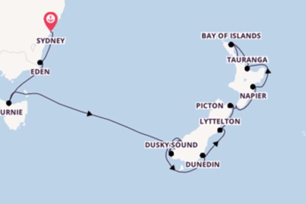 Erleben Sie Picton auf der Norwegian Jewel