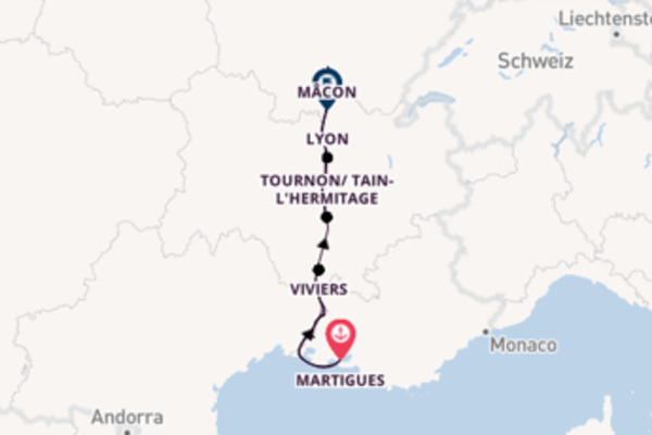 Wie Gott in Frankreich ab Martigues