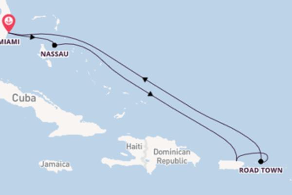 Scopri Nassau partendo da Miami