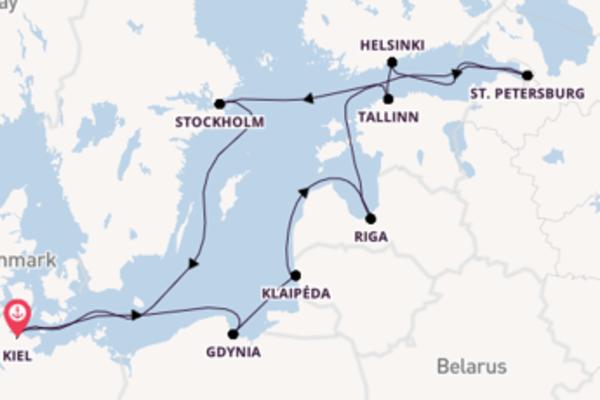 Cruise met TUI Cruises naar Riga