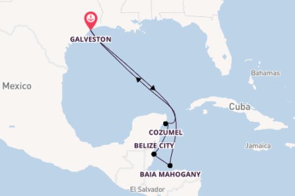 Divertente crociera di 8 giorni verso Galveston