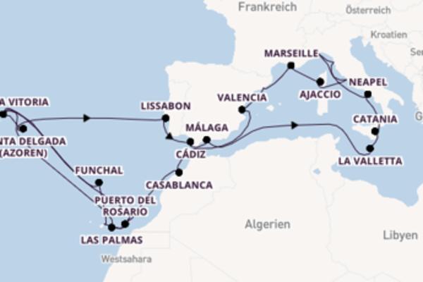 Entdecken Sie Málaga ab Rom (Civitavecchia)