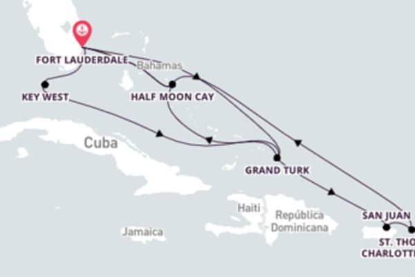 Emocionante viagem de 15 dias até Fort Lauderdale, Flórida