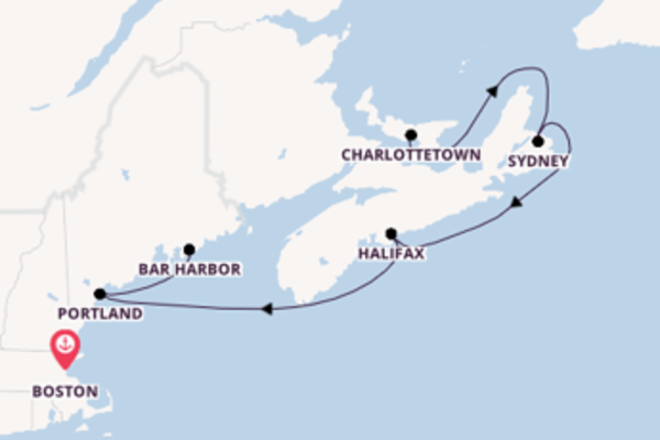 Trip with Norwegian Cruise Line from Boston