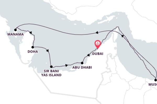 Breathtaking Abu Dhabi from Dubai 11-Day Discovery