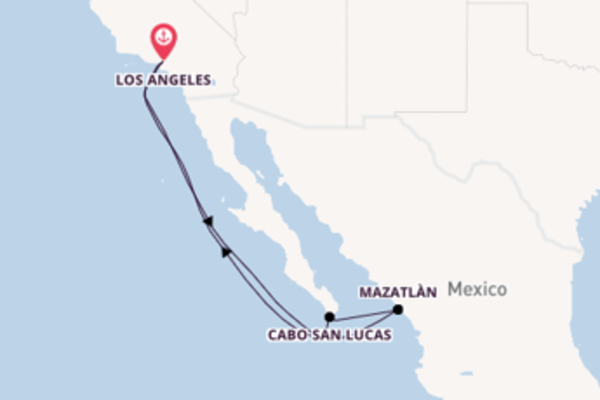 9 day expedition from Los Angeles
