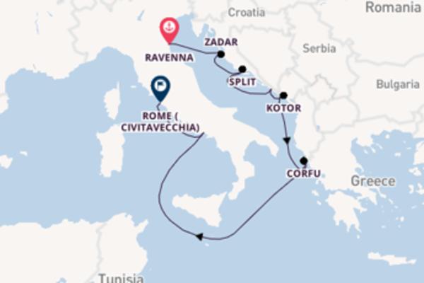 Mesmerising voyage from Ravenna with Celebrity Cruises