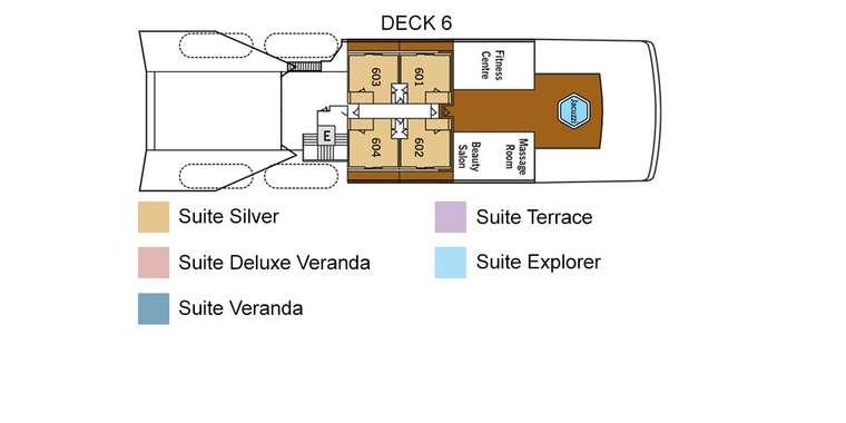 Silver Galapagos Deck 6