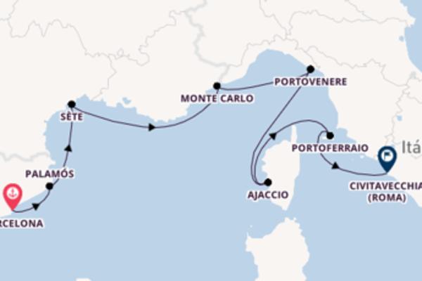 Jornada de 8 dias até Civitavecchia (Roma) com o Seabourn Sojourn