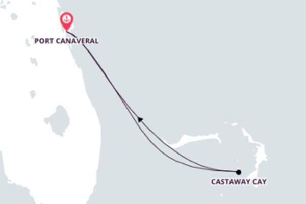 Navegue a bordo do Disney Dream em 4 dias