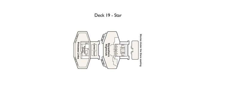 Emerald Princess Deck 19 Star