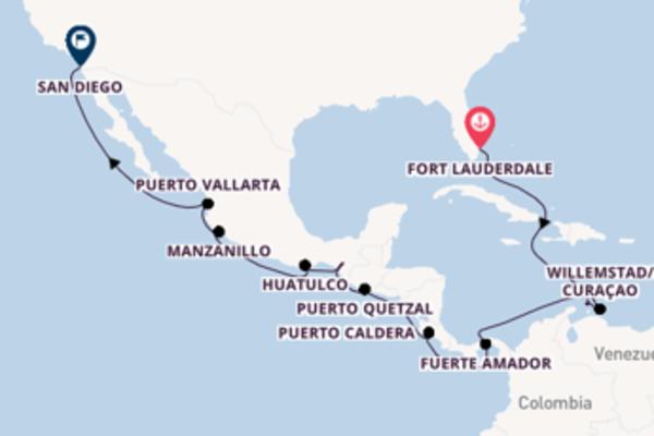 Spumeggiante viaggio di 20 giorni a bordo di MS Volendam