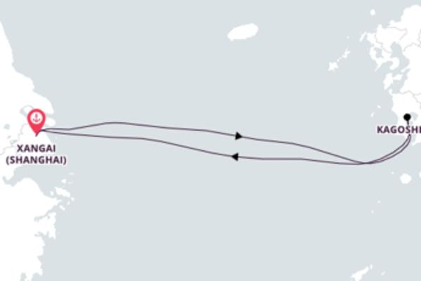 Mágica viagem de 5 dias a bordo do Spectrum of the Seas
