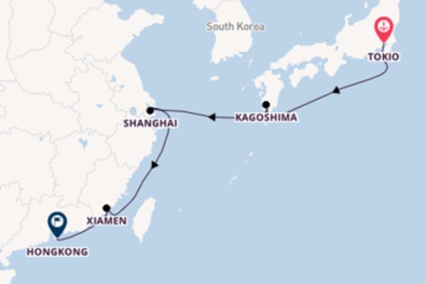 Maak een droomcruise naar Kagoshima