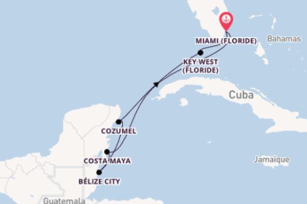 Croisière de 8 jours vers Miami avec Crystal Cruises