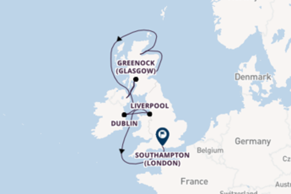 Expedition with Azamara Club Cruises from Edinburgh
