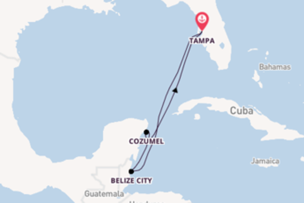 Trip with Celebrity Cruises from Tampa