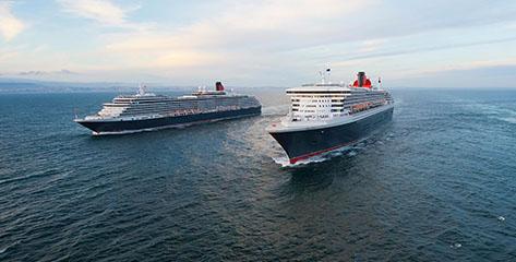 Alle Cunard Angebote im Überblick