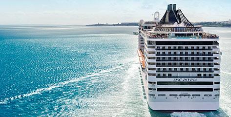 Alle MSC Cruises Angebote im Überblick