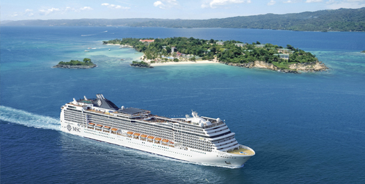 MSC Destinationen